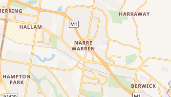 Narre Warren online map