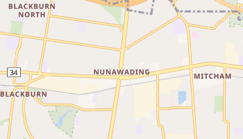 Nunawading online map