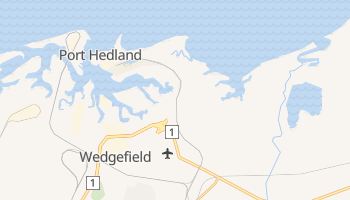Port Hedland online map