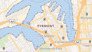Pyrmont online map