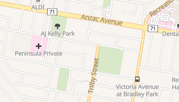 Redcliffe online map
