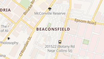 Rosebery online map