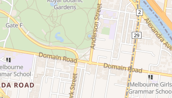 South Yarra online map