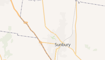 Sunbury online map