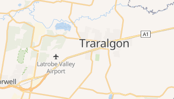 Traralgon online map