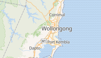 Wollongong online map