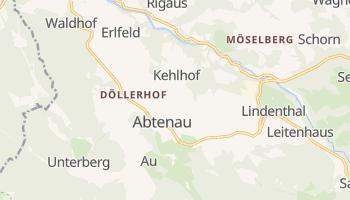 Abtenau online map