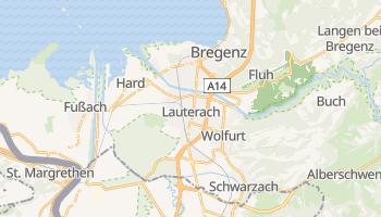 Bregenz online map