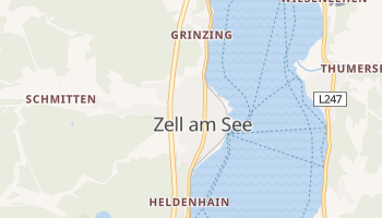 Zell Am See online map