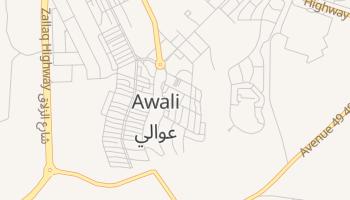 Awali online map