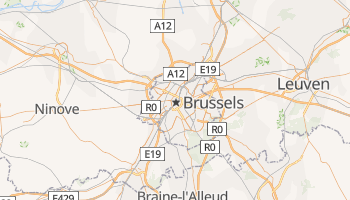 Brussels online map