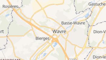 Wavre online map