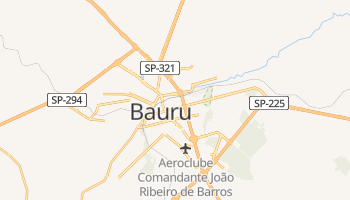 Bauru online map