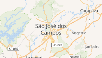 Sao Jose Dos Campos online map