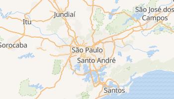Sao Paulo online map