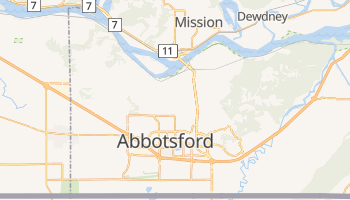 Abbotsford online map