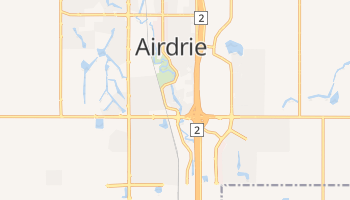 Airdrie online map