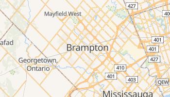 Brampton online map