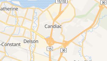 Candiac online map