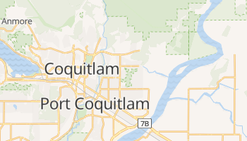 Coquitlam online map