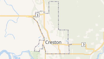 Creston online map