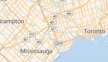 Etobicoke online map