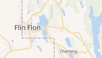 Flin Flon online map