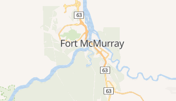 Fort Mcmurray online map