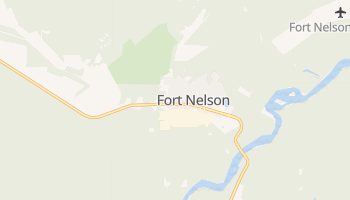 Fort Nelson online map