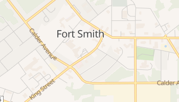Fort Smith online map