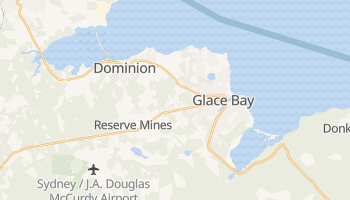 Glace Bay online map