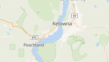 Kelowna online map