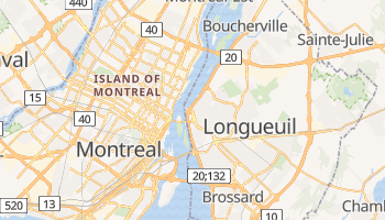 Longueuil online map