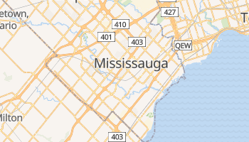 Mississauga online map