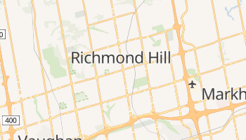 Richmond Hill online map