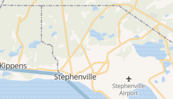 Stephenville online map