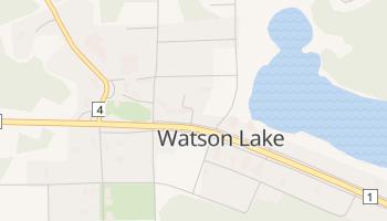 Watson Lake online map