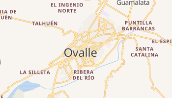Ovalle online map