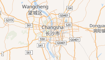 Changsha online map