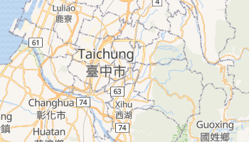 Taichung City online map