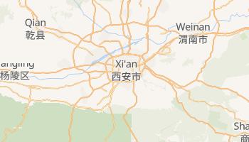 Xian online map