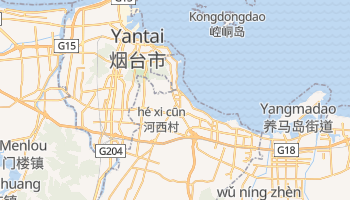 Yantai online map