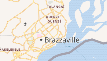Brazzaville online map