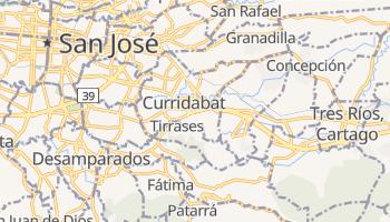 Curridabat online map