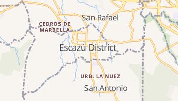 Escazu online map