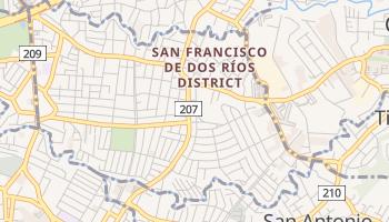 San Francisco De Dos Rios online map