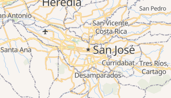 San Jose online map