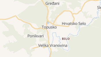 Topusko online map