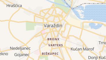 Varazdin online map