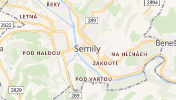 Semily online map